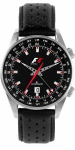 [ジャックルマン]Jacques Lemans 腕時計 Formula I Collection World Time GMT Watch F-5021A