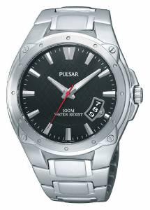 [パルサー]Pulsar 腕時計 Sport Black Dial Watch PXH823 メンズ [並行輸入品]