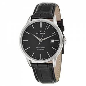 [エドックス]Edox  Les Vauberts Automatic Automatic Watch 800813NIN 80081-3-NIN メンズ