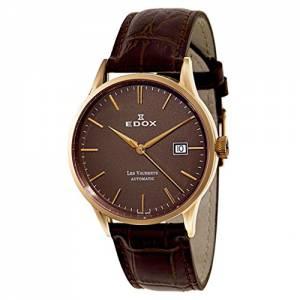 [エドックス]Edox  Les Vauberts Automatic Automatic Watch 8008137RBRIR 80081-37R-BRIR メンズ