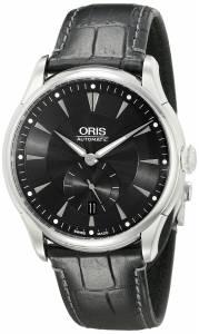 [オリス]Oris  Artelier Analog Display Automatic Self Wind Black Watch 623 7582 4074 LS メンズ