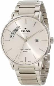 [エドックス]Edox  Les Vauberts Automatic Silver Dial Two Tone Steel Watch 83011 3B AIN