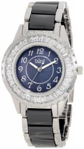 [バージ]Burgi 腕時計 Ceramic Bracelet Baguette Quartz Watch BUR066BK レディース