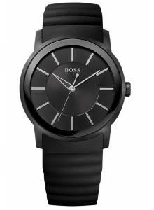 [ヒューゴボス]HUGO BOSS 腕時計 Black Rubber Strap Watch 1512742 メンズ [並行輸入品]