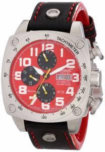 [インガソール]Ingersoll Bison No. 35 Analog Display Automatic Self Wind Black Watch IN2808RD