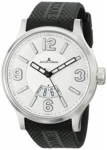 [ジャックルマン]Jacques Lemans  Porto Luminous Analog Display Quartz Black Watch 1-1673B