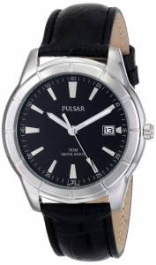 [パルサー]Pulsar 腕時計 Analog Display Japanese Quartz Black Watch PXH839X メンズ