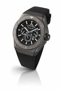 [ティーダブルスティール]TW Steel  CEO Black Dial Black Rubber Watch CE5000 メンズ