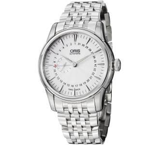 [オリス]Oris Artelier Small Second Pointer Date Automatic Silver Dial Watch 744-7665-4051MB