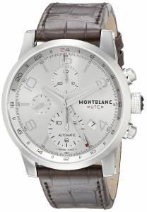 [モンブラン]MONTBLANC Timewalker ChronoVoyager UTC Brown Leather Strap Swiss Automatic 107065