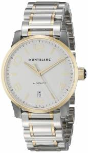 [モンブラン]MONTBLANC  Timewalker Date Automatic Steel Yellow Gold Swiss Watch 106502
