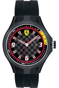 [フェラーリ]Ferrari  Scuderia Gents SF101 'Pit Crew' Black Watch with Black Dial 44mm 830005