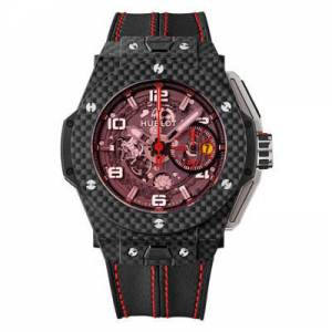 [ウブロ]Hublot  Big Bang Ferrari Magic Carbon Limited Edition of 1000 Pieces 401.QX.0123.VR