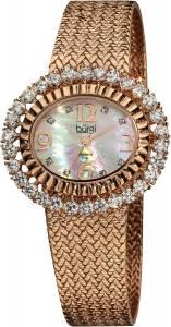 [バージ]Burgi 腕時計 MotherOfPearl Diamond Mesh Bracelet Watch BUR075RG レディース