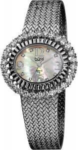 [バージ]Burgi 腕時計 MotherOfPearl Diamond Mesh Bracelet Watch BUR075SS レディース