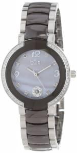 [バージ]Burgi 腕時計 MotherOfPearl Diamond Ceramic Bracelet Watch BUR072BR レディース