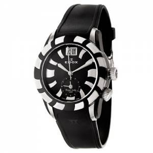 [エドックス]Edox  Royal Lady GMT Quartz Watch 62005357NNIN 62005-357N-NIN レディース
