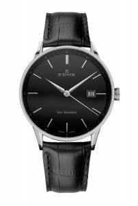 [エドックス]Edox 腕時計 Les Vauberts Quartz Watch 701723NNIN 70172 3N NIN メンズ