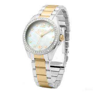 [コーチ]Coach 腕時計 'Tristen' Crystal Bezel Bracelet Watch, 33mm 14501659 [並行輸入品]