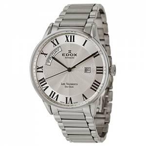 [エドックス]Edox  Les Vauberts Day Date Automatic Automatic Watch 830113BAR 83011-3B-AR