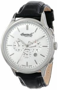 [インガソール]Ingersoll  Mackinac Analog Display Automatic Self Wind Black Watch IN2815SL