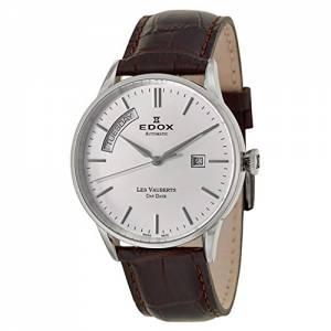 [エドックス]Edox  Les Vauberts Day Date Automatic Automatic Watch 830073AIN 83007 3 AIN