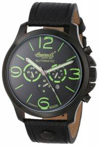 [インガソール]Ingersoll  Totem Analog Display Automatic Self Wind Black Watch IN1503BKGR