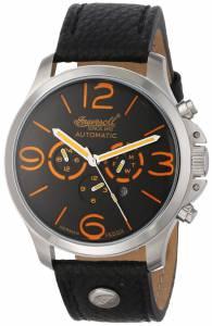 [インガソール]Ingersoll  Totem Analog Display Automatic Self Wind Black Watch IN1503GYOR