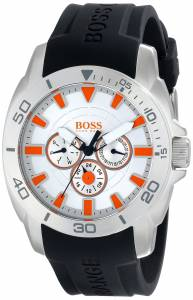 [ヒューゴボス]HUGO BOSS BOSS Orange Big Day Stainless Steel Watch with Black Silicone 1512955