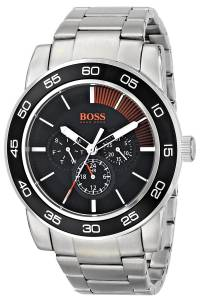 [ヒューゴボス]HUGO BOSS  BOSS Orange Canon Ball Analog Display Quartz Silver Watch 1512861