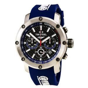 [ティーダブルスティール]TW Steel Yamaha Factory Chronograph Racing Blue Silicone TW925
