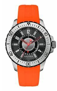 [ノーティカ]Nautica 腕時計 Watch, silicone, Color: arancio A14662G メンズ