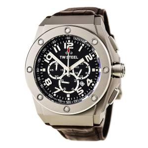 [ティーダブルスティール]TW Steel  Sahara Force Analog Black Dial Watch TW431 CE4014