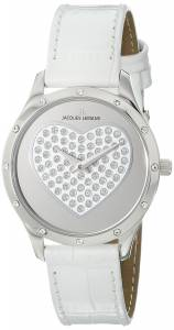 [ジャックルマン]Jacques Lemans  Rome Analog Display Quartz White Watch 1-1803B