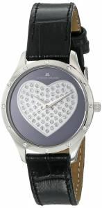 [ジャックルマン]Jacques Lemans  Rome Analog Display Quartz Black Watch 1-1803A