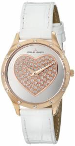 [ジャックルマン]Jacques Lemans  Rome Analog Display Quartz White Watch 1-1803D