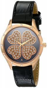 [ジャックルマン]Jacques Lemans  Rome Analog Display Quartz Black Watch 1-1803G