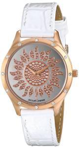 [ジャックルマン]Jacques Lemans  Rome Analog Display Quartz White Watch 1-1803L