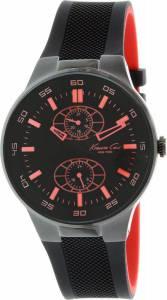 [ケネスコール]Kenneth Cole New York  Kenneth Cole Multifunction Silicone Black watch KC8033