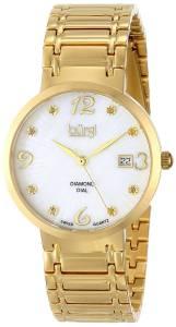 [バージ]Burgi 腕時計 Analog Display Swiss Quartz Gold Watch BUR086YG レディース