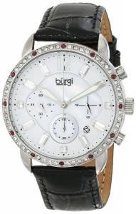 [バージ]Burgi 腕時計 Analog Display Quartz Black Watch BUR089BK レディース