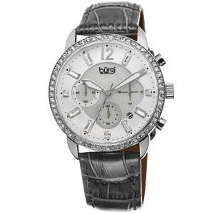 [バージ]Burgi 腕時計 Analog Display Quartz Grey Watch BUR089GY レディース