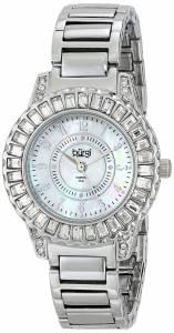 [バージ]Burgi 腕時計 Analog Display Swiss Quartz Silver Watch BUR095SS レディース