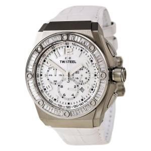 [ティーダブルスティール]TW Steel CEO Tech Analog White Dial Watch CE4015 CE4015