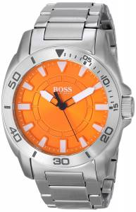 [ヒューゴボス]HUGO BOSS  BOSS Orange Big Day Analog Display Quartz Silver Watch 1512947