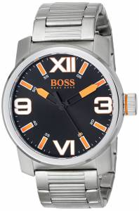 [ヒューゴボス]HUGO BOSS  BOSS Orange Dubai Analog Display Quartz Silver Watch 1512983