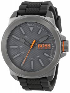 [ヒューゴボス]HUGO BOSS  BOSS Orange New York Stainless Steel and Silicone Watch 1513005
