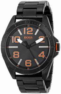 [ヒューゴボス]HUGO BOSS 腕時計 BOSS Orange Berlin Black Bracelet Watch 1513001 メンズ
