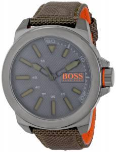 [ヒューゴボス]HUGO BOSS  BOSS Orange New York Analog Display Quartz Green Watch 1513009
