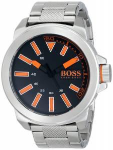 [ヒューゴボス]HUGO BOSS BOSS Orange New York Stainless Steel Bracelet Watch with Black 1513006